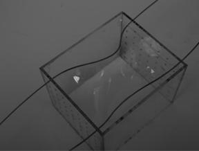 Our Plexiglas box