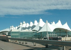 Denver Airport minimal surface roof