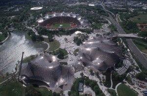 Olympic Stadium.  Munich. 1972