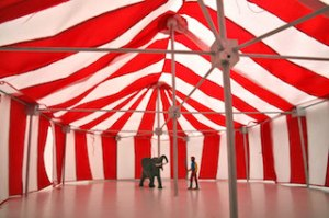 Example of a circus tent